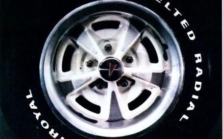 1977 Pontiac Can Am Wheel Tire TCB