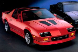 1987 Chevrolet Camaro IROC