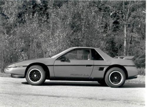 1988 Pontiac Fiero Factory Photo