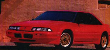 1990 Pontiac Grand Prix Turbo Magazine Ad