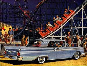 1959 Ford Thunderbird from Ford Ad