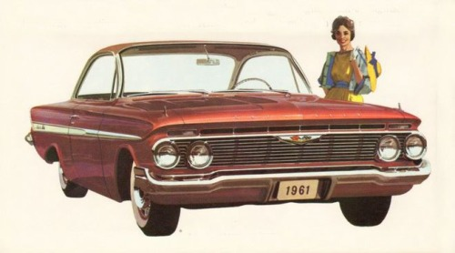 1961 Chevrolet Impala Front Side TCB