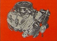 1961 Chevrolet Impala SS Engine TCB