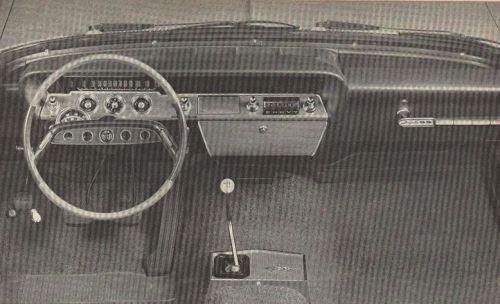 1961 Chevrolet Impala SS Interior TCB
