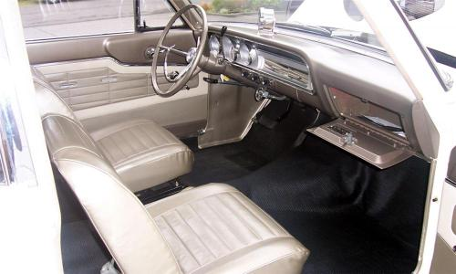 1964 Ford Thunderbolt Interior TCB
