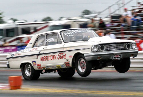 1964 Ford Thunderbolt Wheelie TCB