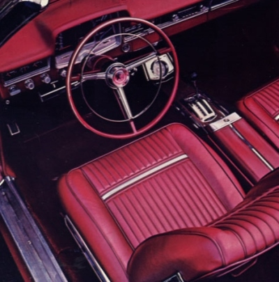 1965 Plymouth Sport Fury Interior TCB