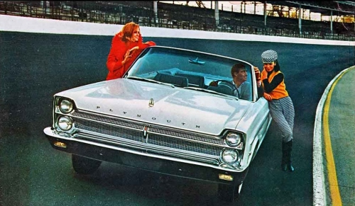 1965 Plymouth Sport Fury Pace Car #2 TCB