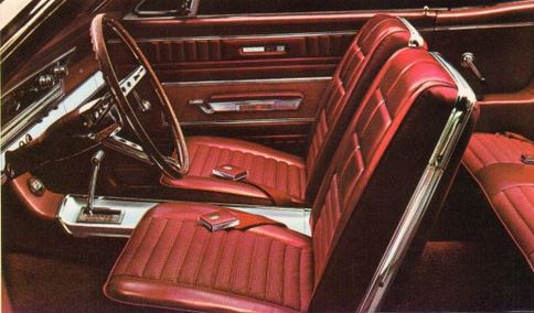 1966 Ford Fairlane GT Interior TCB