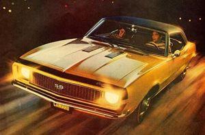 1967 Chevrolet Camaro HM