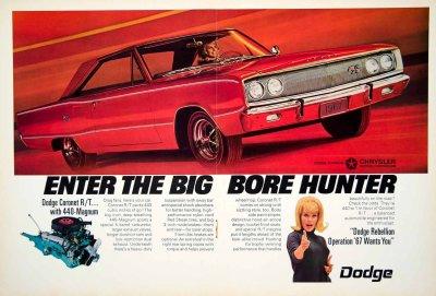 1967 Dodge Coronet RT Ad