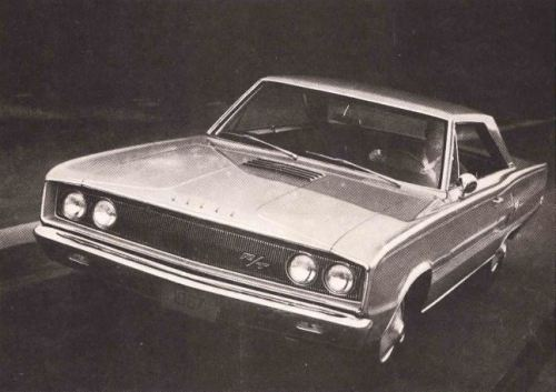 1967 Dodge Coronet RT BW TCB