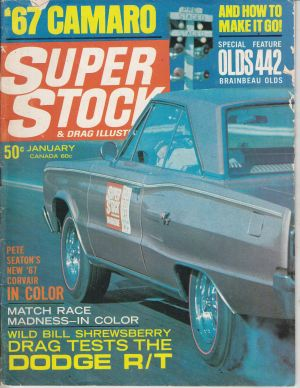 1967 Dodge Coronet RT Super Stock Magazine