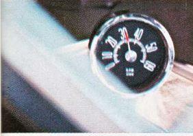 1967 Dodge Coronet RT Tachometer