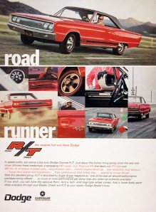 1967 Dodge Coronet RT Trivia HM