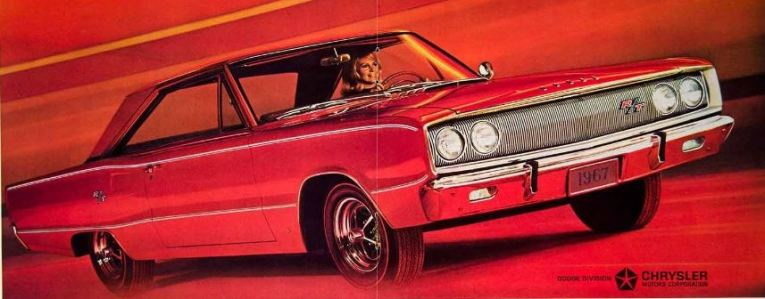 1967 Dodge Coronet RT Woman TCB