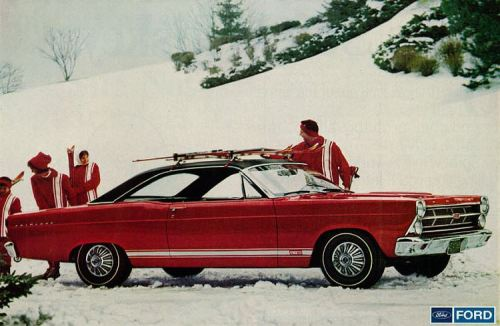 1967 Ford Fairlane GT Snow TCB