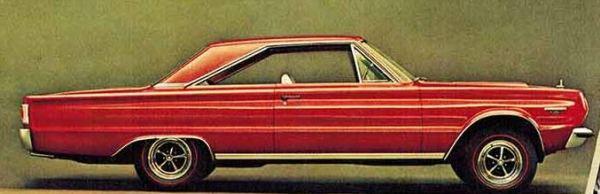 1967 Plymouth GTX TCB
