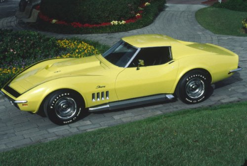 1969 Chevrolet Corvette ZL1 Front Side TCB