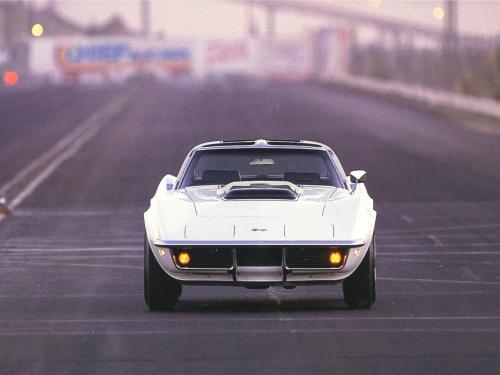 1969 Chevrolet Corvette ZL1 White Front TCB