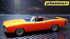 1969 Dodge Bengal Charger Slot Car from pioneerslotcars.com