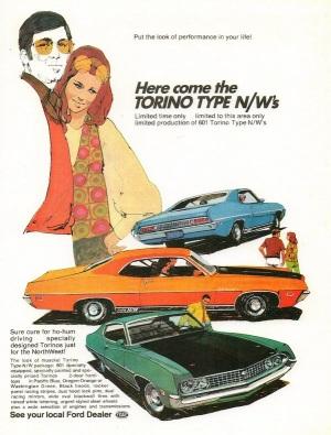 1970 Ford Torino Cobra Type NW