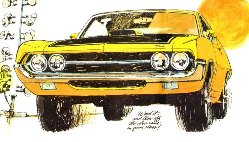 1970 Ford Torino Cobra Yellow