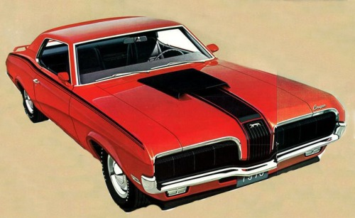 1970 Mercury Cougar Eliminator Front Side TCB2