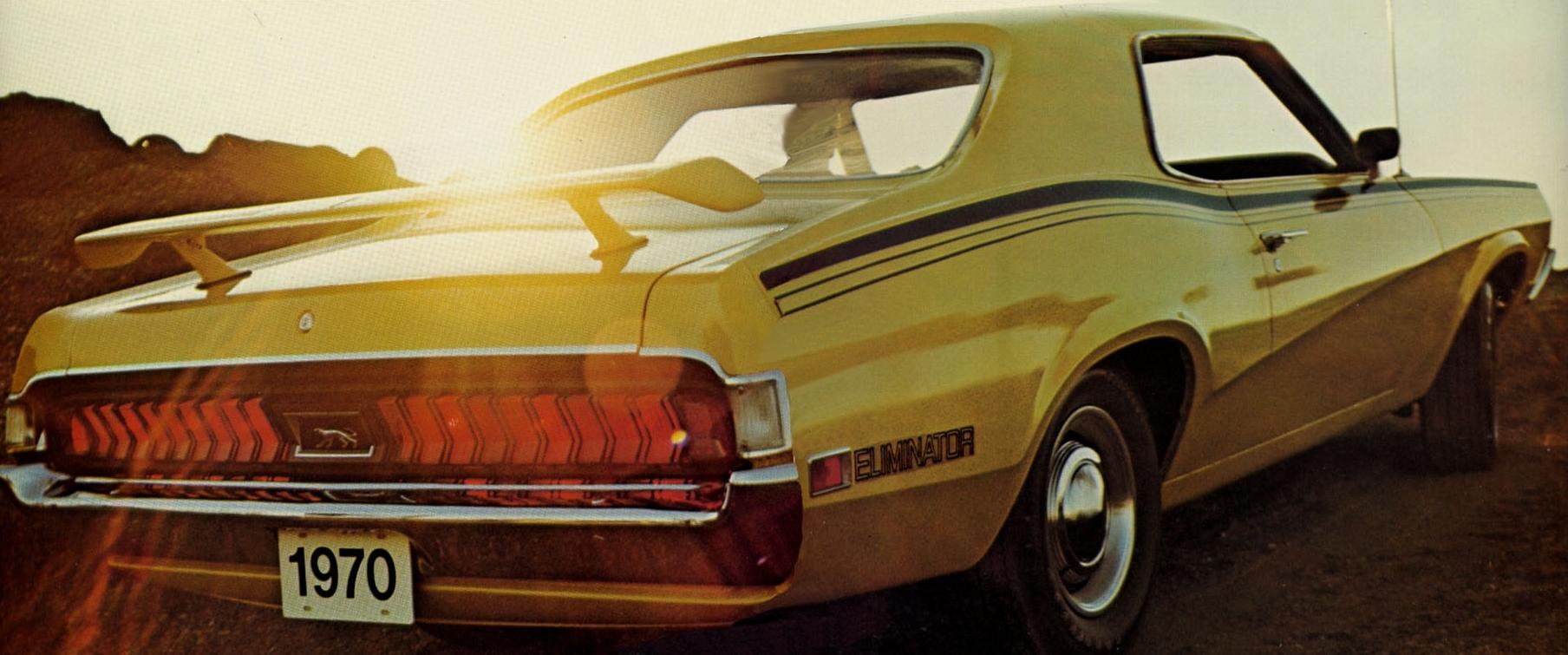 Mercury Cougar Eliminator Rear