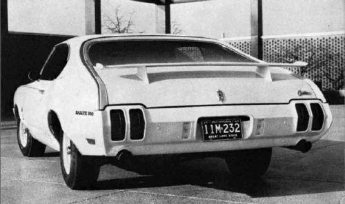 1970 Oldsmobile Rallye 350 Black White TCB