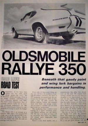 1970 Oldsmobile Rallye 350 Car Life