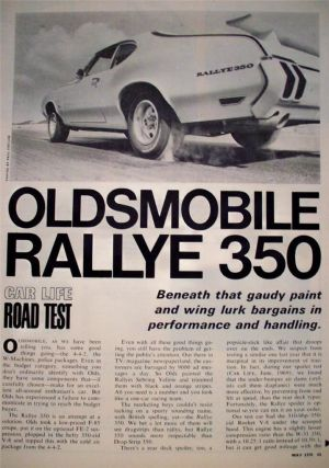 1970 Oldsmobile Rallye 350 Car Life