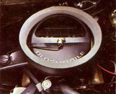 1970 Oldsmobile Rallye 350 Engine TCB