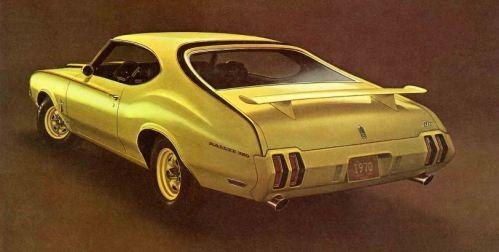 1970 Oldsmobile Rallye 350 Side Rear TCB