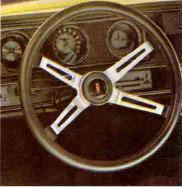 1970 Oldsmobile Rallye 350 Steering Wheel TCB