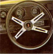 1970 Oldsmobile Rallye 350 Steering Wheel TCB