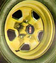 1970 Oldsmobile Rallye 350 Wheel