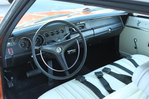 1970 Plymouth Superbird Interior TCB