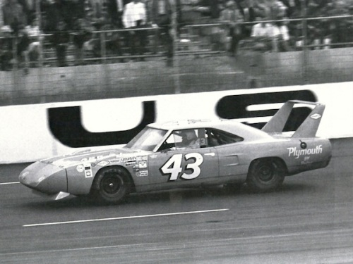 1970 Plymouth Superbird NASCAR Petty TCB