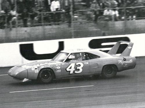 1970 Plymouth Superbird NASCAR Petty TCB