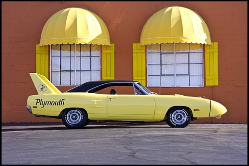 1970 Plymouth Superbird Side Shot TCB