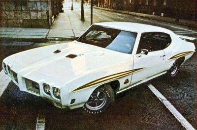 1970 Pontiac GTO Judge TCB