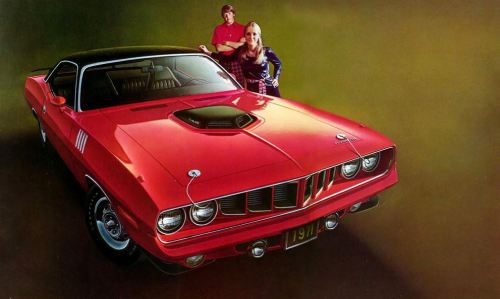 1971 Plymouth Barracuda TCB