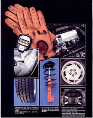 1986 Dodge Omni GLHS Equipment
