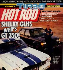 1986 Dodge Omni GLHS Hot Rod Magazine Cover