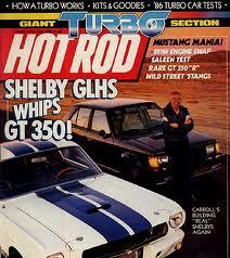 1986 Dodge Omni GLHS Hot Rod Magazine Cover
