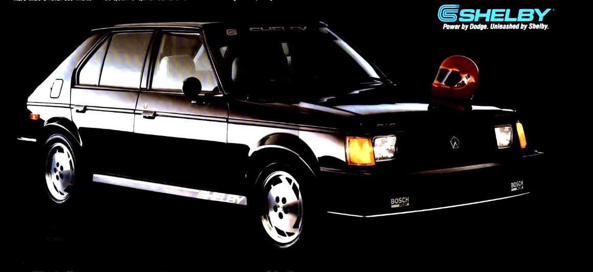 1986 Shelby Dodge Omni Glhs Horsepower Memories