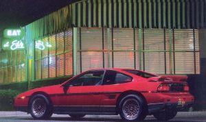 1986 Pontiac Fiero Trivia HM