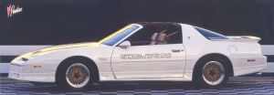 1989 Pontiac Trans Am Indy Pace Car HM