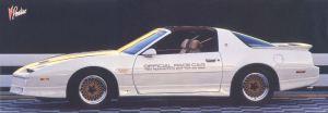 1989 Pontiac Trans Am Indy Pace Car HM